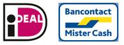 ideal/bancontact logos
