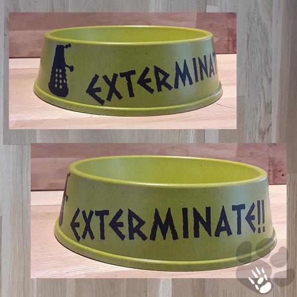 Exterminate dalek voerbak