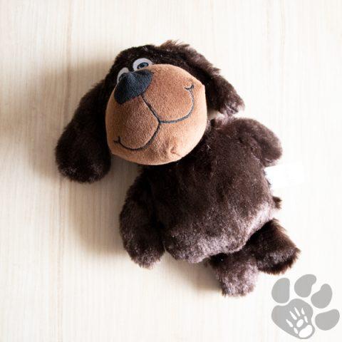 hond pluche bruin
