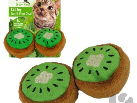 kiwi cat toy