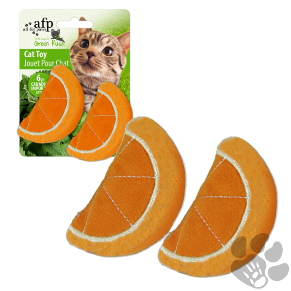 orange cat toy