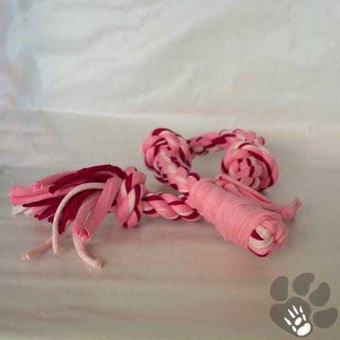 knooptouw roze