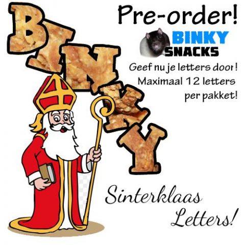 sinterklaas letters