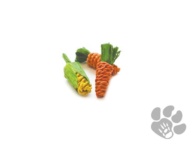 wortels en mais