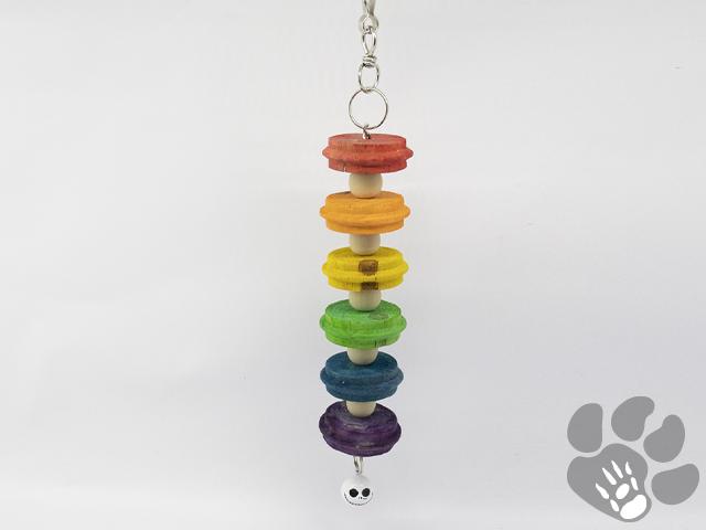 regenboog met jack skellington bel